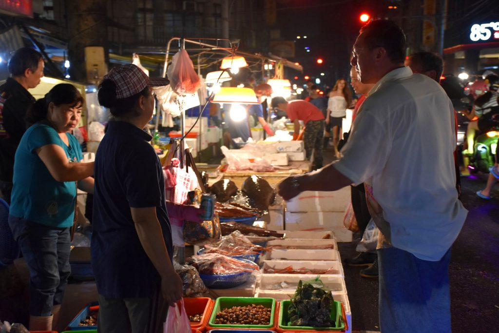keelung fish night market