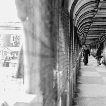 【基隆景點】侯導影像中的藍色長廊:中山橋