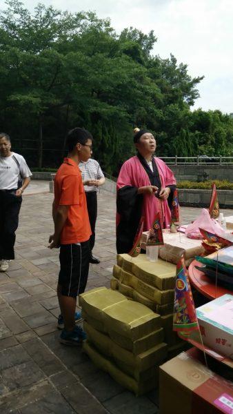 Keelung Festivals: taoist priest ghost festival cerimony