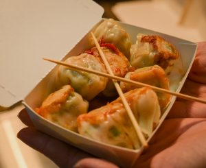 keelung night market:dumplings