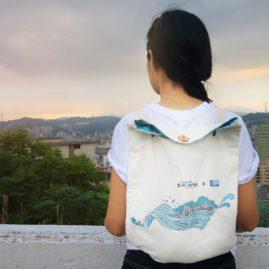旅行雙用肩背包