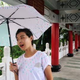 雨都漫步傘