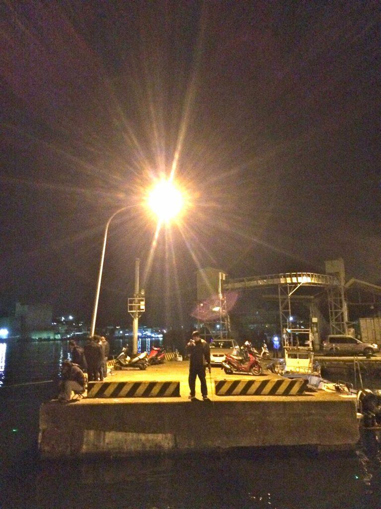 基隆和平島景點體驗夜釣