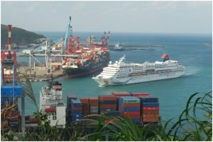 Cruise comes to Keelung