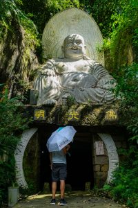 Buddha statue over Foguang Cave