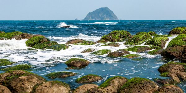 Coastline of Heping Island in Keelung, Taiwan