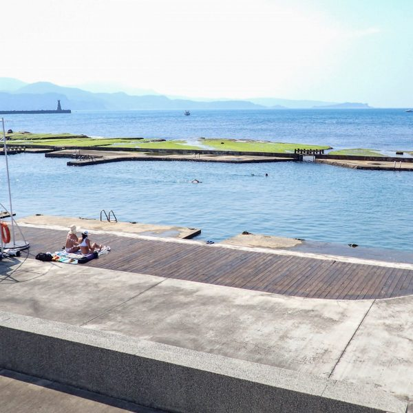 Heping Parking Salt Water Pool in Keelung, Taiwan