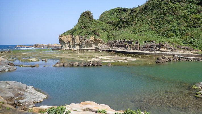 Heping Park Coast in Keelung, Taiwan