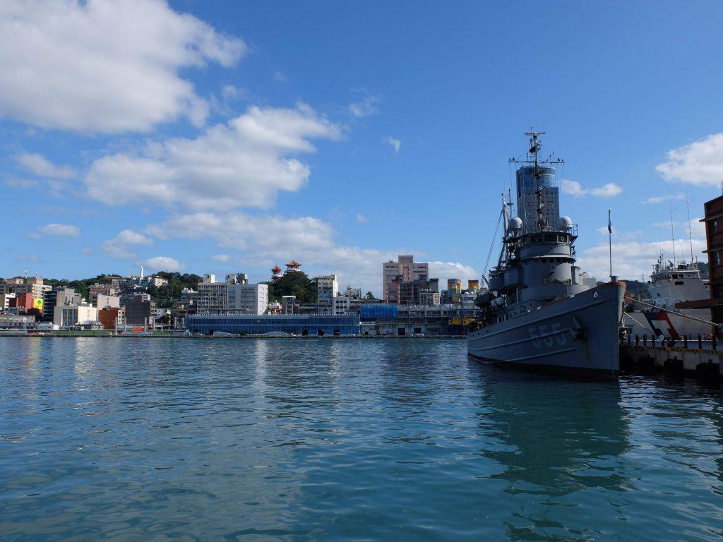 ROC navy boat