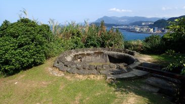 Gun Emplacement of East Sheliao Fort