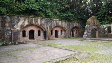 Historic Barracks at Dawulun Fort