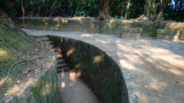 Trenches at Dawulun Fort
