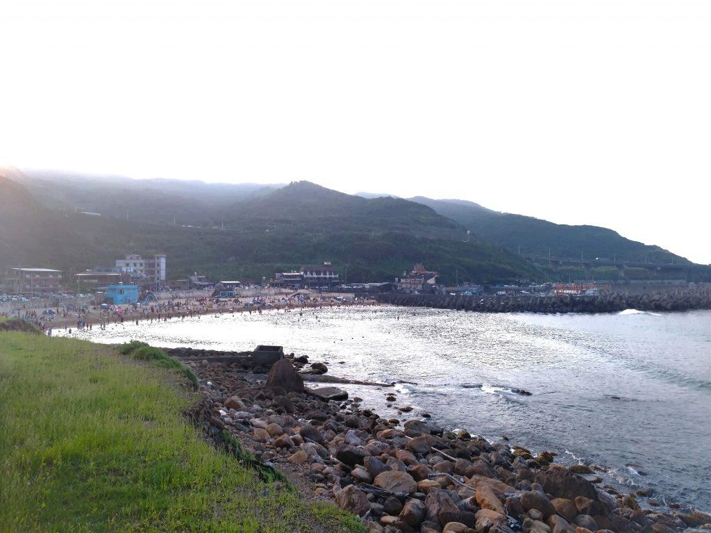 外木山海濱看日出