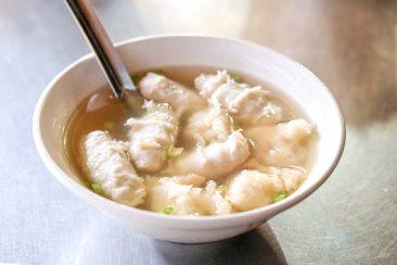 基隆廟口70攤的綜合丸湯