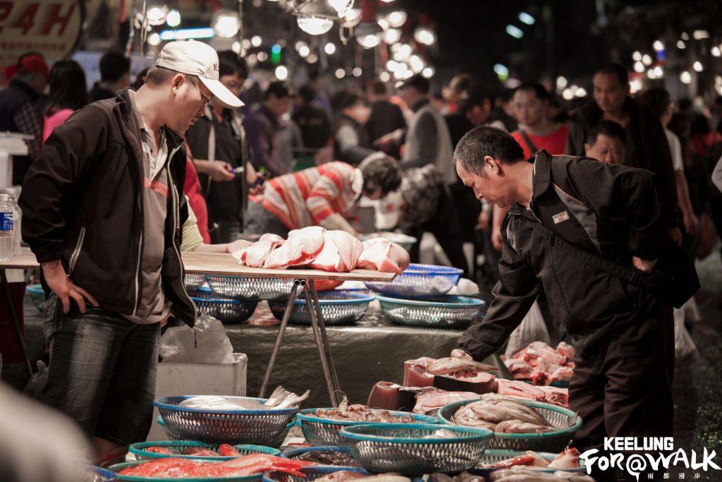 魚市無眠崁仔頂魚市