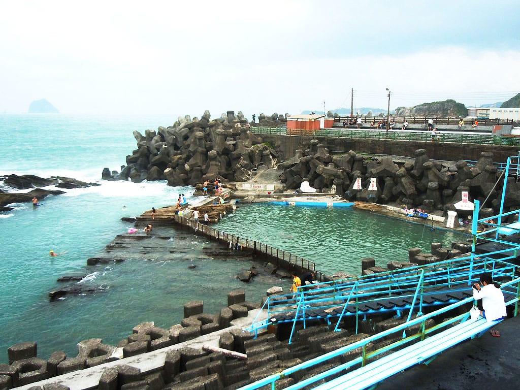 外木山免費海興游泳池